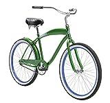 Diamondback Bicycles Men's 2015 Drifter Complete Cruiser Bike, 18-Inch/One Size, Green