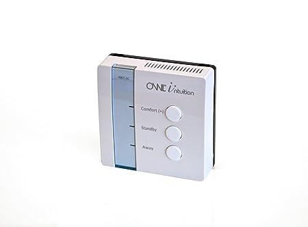 Owl Intuition - Thermostat Internet programmable pour chauffage central Wi-Fi contrôleur de température pour le réseau basé sur le Web