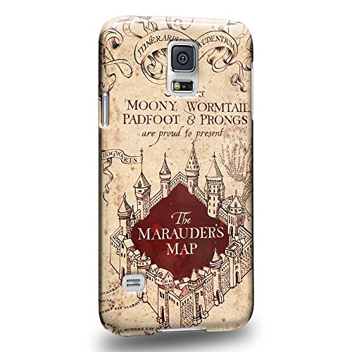 Case88 Premium Designs Marauder's Map Harry Potter & Hogwarts Collections Protective Snap-on Hard Back Case Cover for Samsung Galaxy S5 (Ford Galaxy S5 Phone Case compare prices)