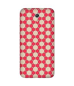 Pink Hexagon Lenovo Zuk Z1 Case