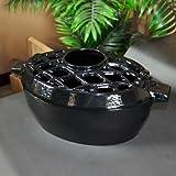 3 Qt Lattice Top Steamer - Jet Black