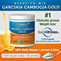 #1 Pure Garcinia Cambogia Extract, 1500mg, 90 Servings (100% Pure Water-Soluble Garcinia Camboiga GOLD) Features 60% HCA SuperCitrimax® Garcinia with 5 U.S. Patents - Clinically-Proven Appetite Suppressant and Weight-loss That Works from NutriGold