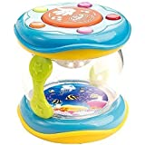 First Drum. Battery operated Music with features for learning and entertainment for your baby and toddler. Great stocking stuffer.