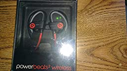Beats by Dr. Dre Powerbeats 2 Wireless Active Collection MKPY2AM/A   Siren Red In Ear Headphone