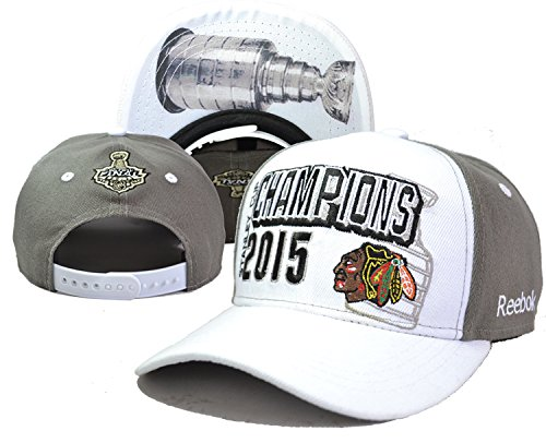 NHL Men's State Flective Redux White 2015 Stanley Cup Champions Cap