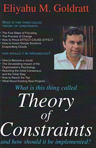 the goal by eliyahu goldratt book Book summary: the goal by eliyahu goldratt.