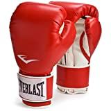 Everlast Pro Style Training Gloves (Red, 12 oz.)