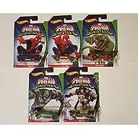 Hot Wheels Marvel Ultimate Spider-Man Vs Sinister 6, 5 Car Set