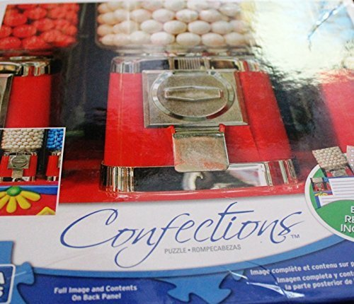 Mega Puzzles - Confections - Gumball Machine - 1000 Piece Puzzle