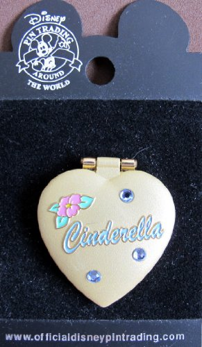 Disney Collector Pin: Tinker Bell Heart Shape Locket Pin w