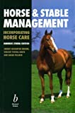 img - for Horse and Stable Management by Jeremy Houghton Brown (2000-07-30) book / textbook / text book