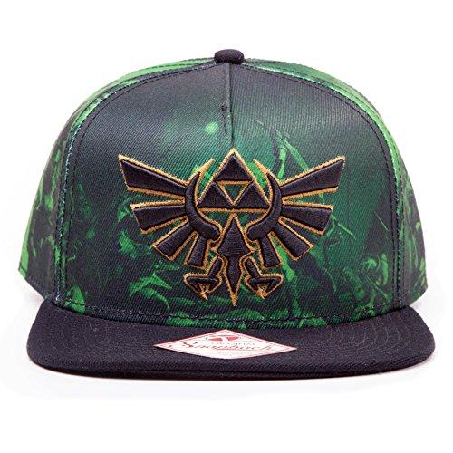 Legend of Zelda - Cappellino con stampa e logo Triforce