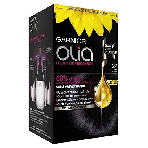 Garnier Olia colorazione per capelli Dark platino N ° 2P Nero platino