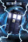Doctor Who - Poster Tardis (Metallic Signature Series)
