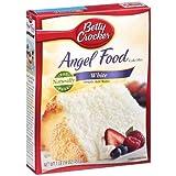 Betty Crocker White Angel Food Cake Mix - Pack Of 3 (16oz) Boxes