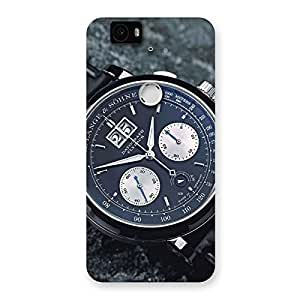 Special Wrist Watch Multicolor Back Case Cover for Google Nexus-6P
