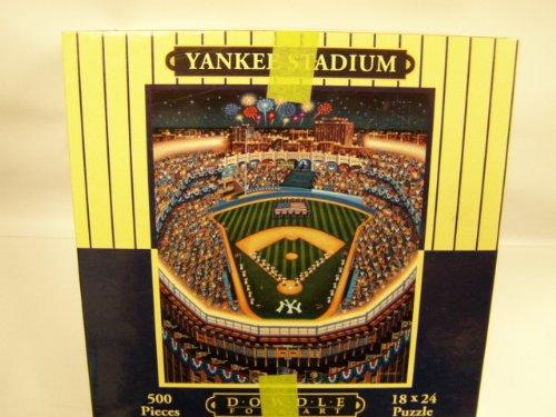 Yankee Stadium 500 Piece Puzzle - 1