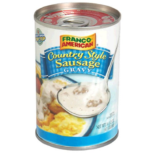 Campbell's Country Style Sausage Gravy, 14.5-Ounce Cans (Pack of 24)