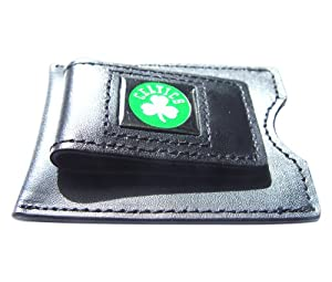 NBA Boston Celtics Leather Money Clip and Card Case by aminco