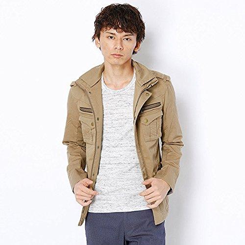MKオム(MK homme) ブルゾン(バラックミリタリーブルゾン)【キャメル/48(L)】