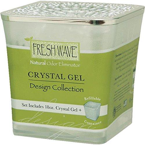 fresh wave crystal gel air freshener set 18 oz new ebay. Black Bedroom Furniture Sets. Home Design Ideas