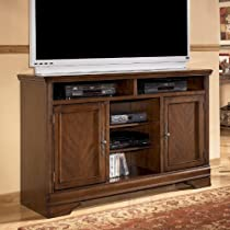 Hot Sale Dark Brown Tall Large TV Stand - Signature Design by Ashley Furniture