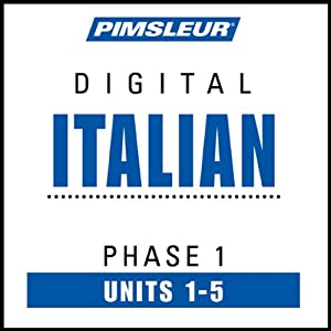 Italian Phase 1, Unit 01-05: Learn to Speak and Understand Italian with Pimsleur Language Programs | [Pimsleur]