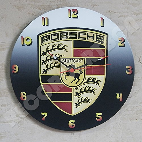 Porsche Vinyl clock / Wall clock.