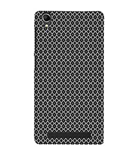 EPICCASE black sparkles Mobile Back Case Cover For Intex Aqua Power Plus (Designer Case)