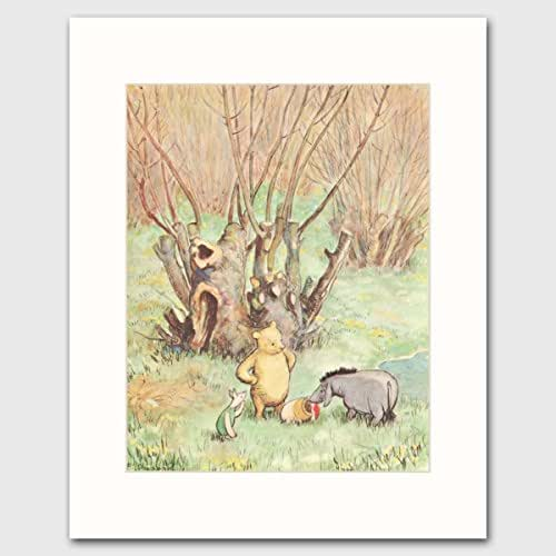 Classic winnie the pooh baby shower gift for Classic winnie the pooh wall mural