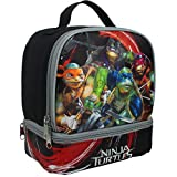 Teenage Mutant Ninja Turtles Movie Lunch Kit Black/Grey