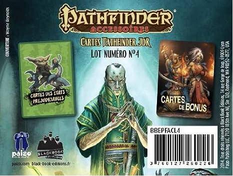 Cartes Pathfinder JDR - Lot Numéro N°4 : Préjudices et Bonus