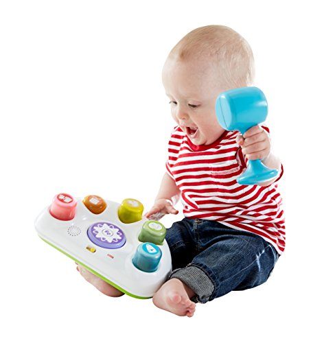Fisher Price Tappin' Beats Bench - juguetes musicales (Niño/niña, AA, Multicolor)