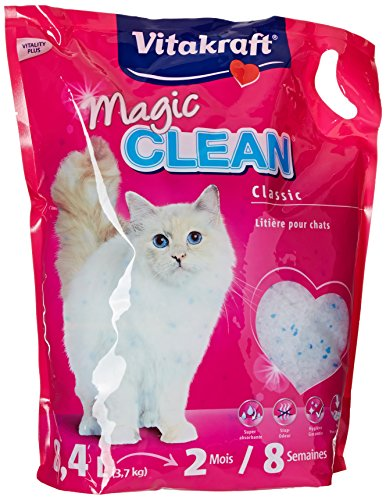 Vitakraft 15526 Litière Magic Clean 8 Semaines pour chat 8,4L'