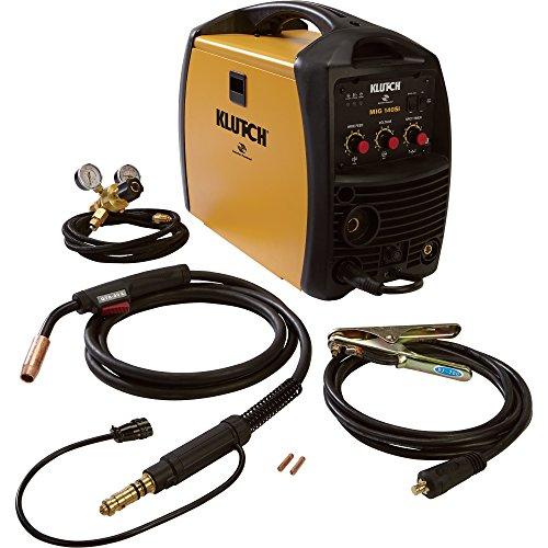 Klutch-MIG-140SI-Inverter-Powered-Wire-Feed-MIG-Welder-140-Amp-Output