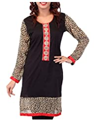 In-trend Women's Cotton Straight Kurti
