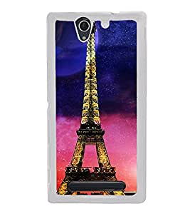 ifasho Effile Tower Back Case Cover for Sony Xperia C3