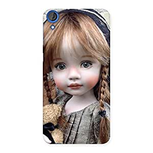 Delighted Girl Angel Multicolor Back Case Cover for HTC Desire 820