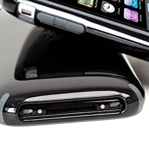 Speck Products CandyShell Case for iPhone 3G, 3GS (Black/Gray)