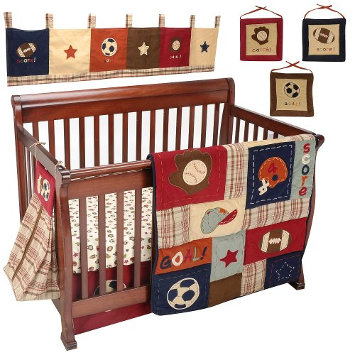 NoJo My Little MVP 9-Piece Crib Bedding Set - 1