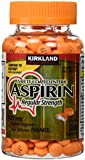 Kirkland Signature Safety Coated Enteric Aspirin, 325 mg, 500 Tablets