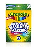 Crayola 12 Ct Fine Washable Markers
