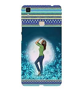 ifasho Designer Phone Back Case Cover Vivo V3 ( Giraffes SunLight )