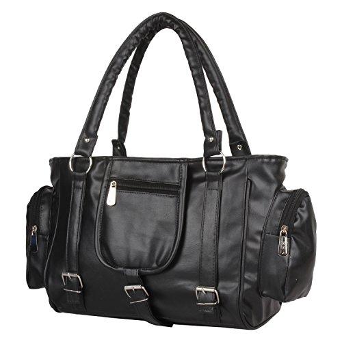 Glory Fashion Women's Handbag(Black,Bags Beautys)