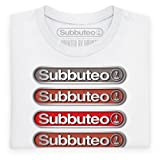 Official Subbuteo - Flicks for Kicks Mono Organic T Shirt, Mens