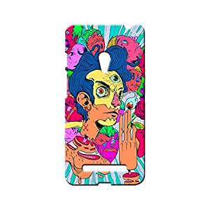 BLUEDIO Designer Printed Back case cover for Asus Zenfone 5 - G5301