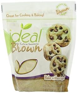 Ideal Brown No Calorie Sweetener, 10.6 oz.