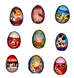 Surprise Eggs for Girls x 9 (Minnie Mouse, Mickey Mouse, Daisy, Disney Princesses, Winnie the Pooh, One Direction etc)