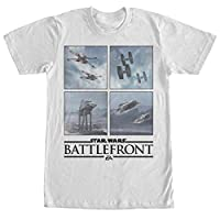 Star Wars Battlefront Rebel Alliance vs Empire Mens Graphic T Shirt - Fifth Sun