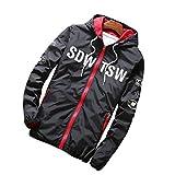SemiAugust(セミオーガスト)メンズ バイクジャケット オートバイジャケット ファッションアウトウェア 大人気コート カラーはブラック サイズは2XL